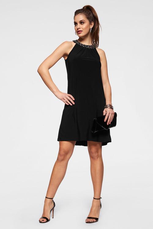 Urban Crystal Neck Dress