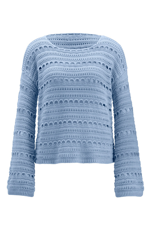 Heine Pointelle Sweater