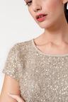 Heine Fantasy Sequin Knit Top