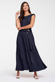 Heine Off Shoulder Maxi Dress