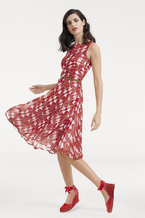 Heine Abstract Print Dress