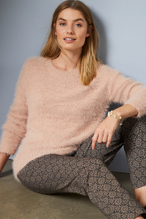 Capture Feather Knit Sweater