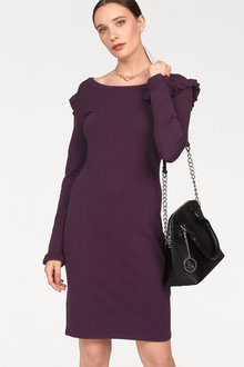 Urban Dress with Ruffle Detail - 247549