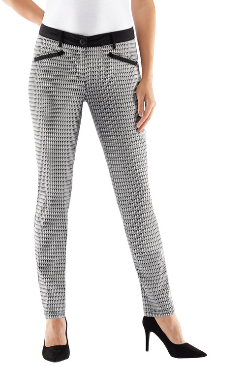 Euro Edit Printed Trouser