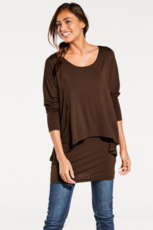 Capture Double Layer Longline Top - 247586