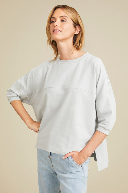 Capture Drop Shoulder Sweat Top