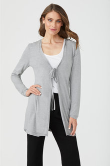 Capture Tie Front Cardigan - 247602