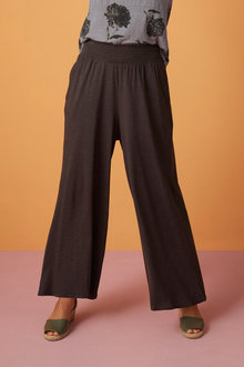 Capture Shirred Waist Wide Leg Pant - 247615