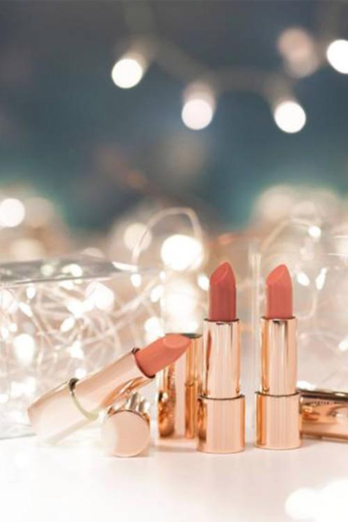 Nude by Nature Glimmer Moisture Shine Lipstick Trio
