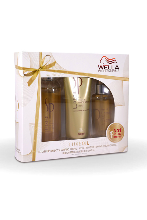 Wella SP Care Luxeoil Trio Gift Set for all Hair Types & Textures