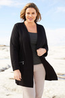 Plus Size - Sara Ponti Zip Jacket