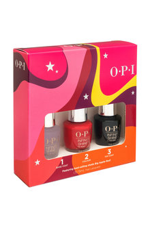 Opi Infinite Shine Gift Set - Big Apple Red