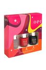 Opi Infinite Shine Gift Set - Big Apple Red