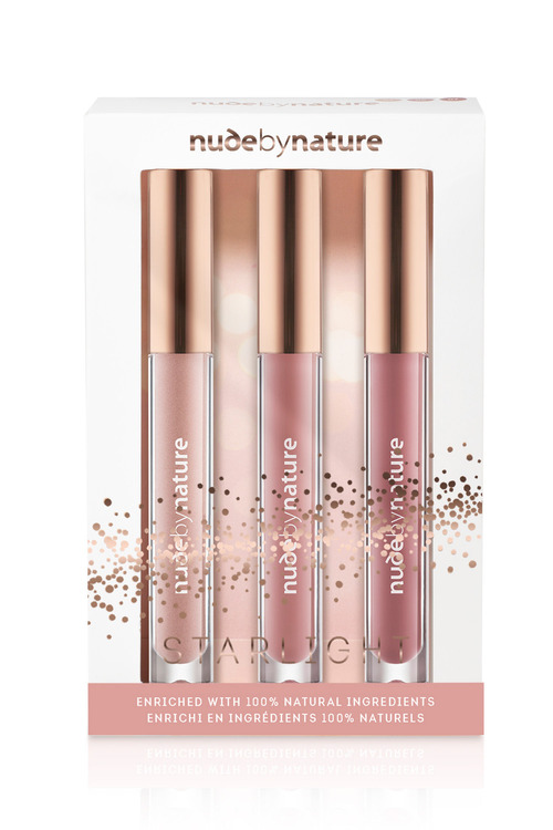 Nude by Nature Starlight Moisture Infusion Lipgloss Trio