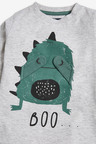 Next Long Sleeve Monster Interactive T-Shirt (3mths-7yrs)