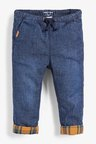 Next Dark Blue Pull-On Lined Jeans (3mths-7yrs)