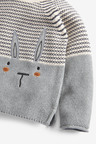 Next Bunny Stripe Jumper And Tights Set (3mths-7yrs)