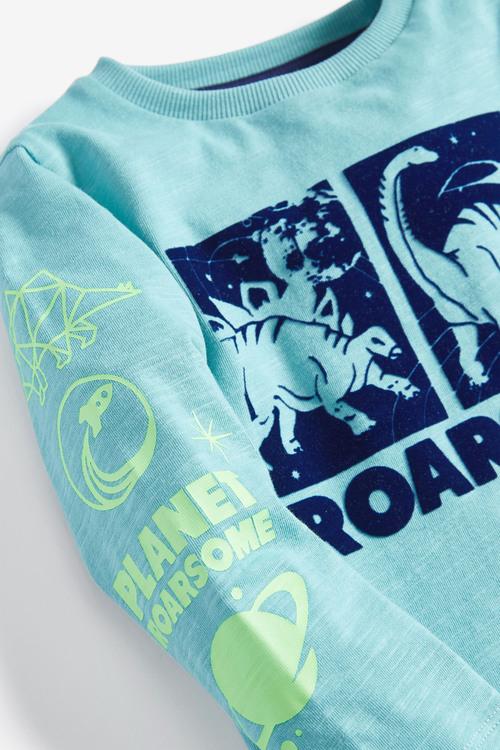 Next Long Sleeve Roarsome Dino T-Shirt (3mths-7yrs)