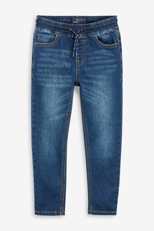 Next Jersey Look Denim Pull-On Jeans (3-16yrs) - 247791