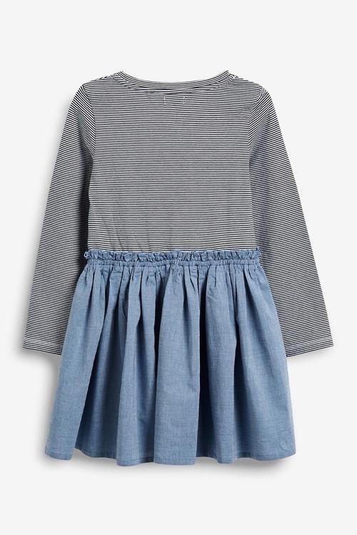 Next Blue Sequin Dress