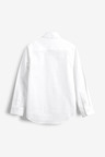 Next White Long Sleeve Oxford Shirt