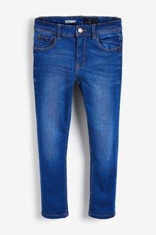 Next Bright Blue Five Pocket Skinny Jeans - 247820