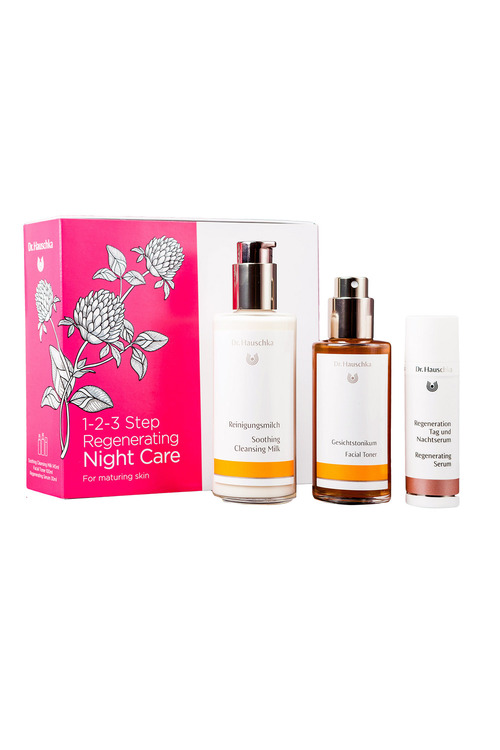 Dr. Hauschka 1-2-3 Step Regenerating Night Care Set