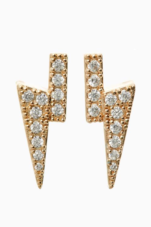 Next DiamantA Bolt Stud Earrings
