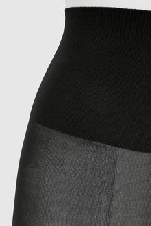 Next Black Luxe Opaque 30D Tights Two Pack - 247923