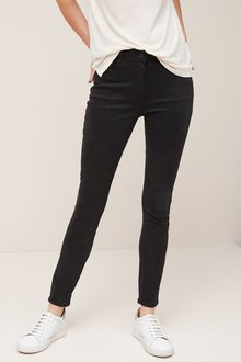 Next Black Soft Touch Skinny Jeans - 247938
