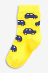 Next 7 Pack Cotton Rich Transport Socks (Younger)