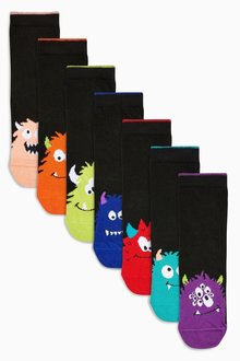 Next Monster Socks Seven Pack (Older) - 247971