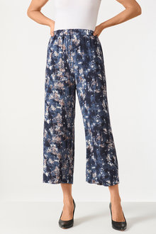 Grace Hill Straight Cropped Pants - 248001