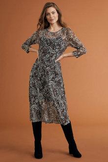 Capture Tulle Midi Dress
