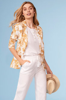 Capture Printed Blazer - 248062