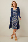 Capture 2-in-1 Cardi Dress