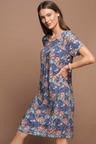 Capture Pleat Front Dress