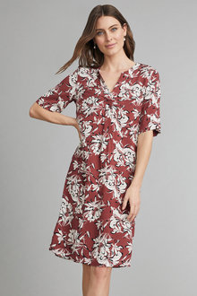 Capture Popover Dress - 248078
