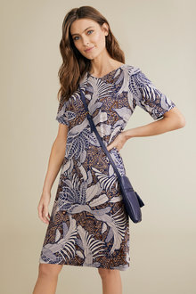 Capture Stretch Shift Dress - 248080