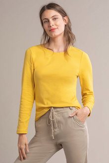 Capture Long Sleeve Rib Top