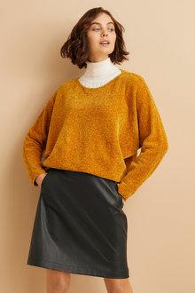 Emerge Chenille Batwing Sweater - 248103