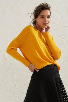 Emerge Rib Sleeve Sweater - 248132