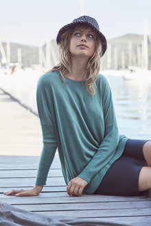 Emerge Rib Sleeve Sweater