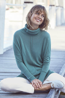 Emerge Roll Neck Sweater