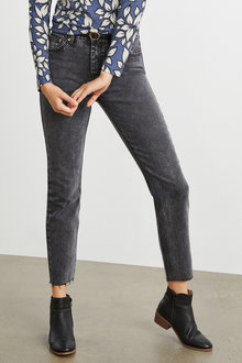 Emerge Cropped Straight Jeans - 248155