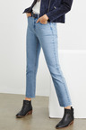 Emerge Cropped Straight Jeans