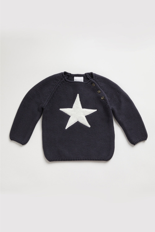 Pumpkin Patch Star Knit Sweater