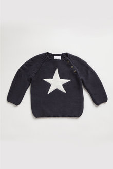 Pumpkin Patch Star Knit Sweater - 248193