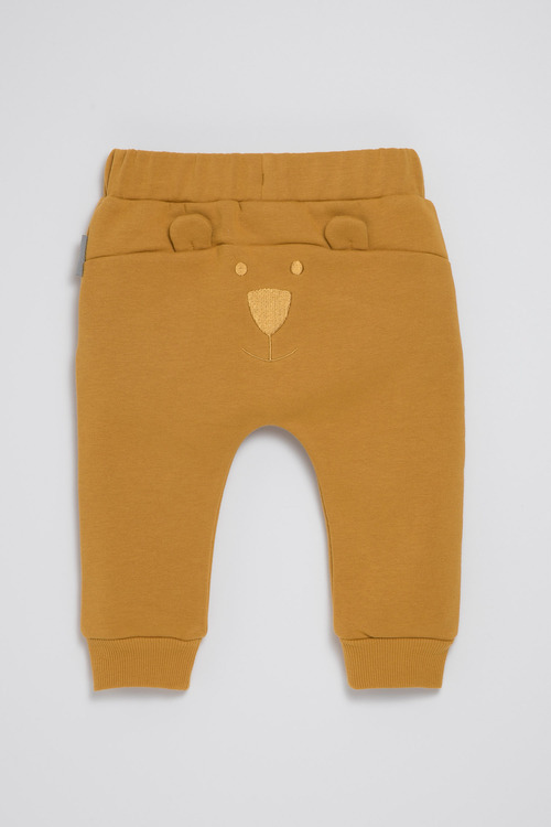 Pumpkin Patch Fleece Bear Joggers