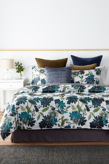 Aviary Jacquard Duvet Cover Set - 248229